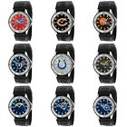 NFL Football Sport Mens Game Time Veteran Series Nylon Canvas Band Analog Watch $34.95 USD on eBay