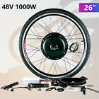 "26"" Front/Rear Wheel Electric Bicycle E-bike Motor Conversion Kit Cycling Motor"