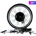 26&quot; Front/Rear Wheel Electric Bicycle E-bike Motor Conversion Kit Cycling Motor <br/> 500W/1000W/LCD✔Brushless Gearless MOTOR✔Aluminum Alloy✔