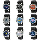 NBA Basketball Sport Mens Game Time Veteran Series Nylon Canvas Band Watch on eBay