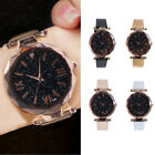 Starry Sky Masonry Wtist Watch Ladies Magnet Band Womens Stainless Luxury Watch