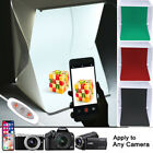 Foldable Photo Studio Mini Light Box Tent Kit Home Photography 35 LED Lights ws1