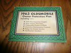1963 Oldsmobile Owner Protection Plan - Vintage - Glove Box with Protect-O-Plate