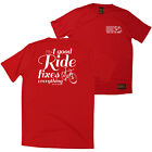FB Cycling Tee - A Good Ride - Novelty Birthday Dry Fit Performance T-Shirt