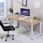 Wood Computer Desk PC Laptop Table Workstation Study Home Office Black/Brown