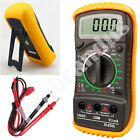LCD Digital Multimeter Voltmeter AC DC Voltage Circuit Checker Tester Buzzer OHM