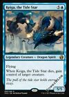 4 Keiga, the Tide Star - Blue Iconic Masters Mtg Magic Rare 4x x4
