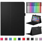 Stand PU Leather Case Cover For Microsoft Surface Go 3 RT Surface Pro 3 4 & 2017