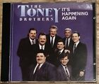 The Toney Brothers cd It's Happening Again RARE OOP NICE