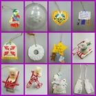 Avon Ornaments from 1980 to 1990s.....12 Vintage Ornaments to choose from!