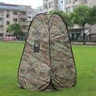 Portable Privacy Shower Toilet Tent Camping Pop Up Tent Camouflage Tent 3D93