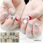 CHRISTMAS PARTY NAIL WRAPS - Self Adhesive Nail Sticker Waterproof Decals