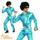 Adult Mens Disco Jumpsuit Costume Abba 1970s Fancy Dress Outfit