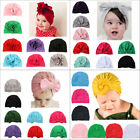 Внешний вид - Kids Girls Baby Toddler Turban Knotted Bow Hat Cap Headband Hair Band Headwear