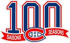 Montreal Canadiens 100 Years Color Die Cut Vinyl Decal Sticker - You Choose Size $13.99 USD on eBay