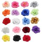Various 20pcs Artificial Flowers Silk Rose Peony Heads Bulk Crafts Wedding Decor