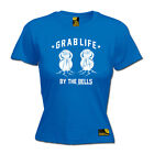 Gym Bodybuilding Top T-Shirt Funny Novelty Womens tee TShirt - Grab Life By The