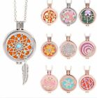 Fashion Diffuser Locket Aromatherapy Essential Oil Perfume Pendant Necklace Hot
