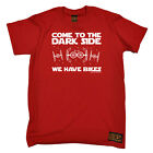 Cycling T-Shirt Funny Novelty Mens tee TShirt - Come To The Dark Side Bikes