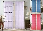 Kyпить 1PC VOILE SHEER CRUSHED RUFFLE WINDOW DRESSING CURTAIN PANEL DRAPE TREATMENT на еВаy.соm