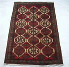 RRA 7x10 Persian Sarab Semi-Antique Beige/Red Rug 34863