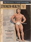 AUGUST 1958 STRENGTH & HEALTH MAGAZINE-PHYSICAL FITTNESS- RONALD LACY COVER-RARE