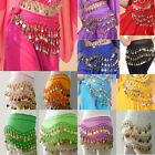 Kyпить Women Belly Dance Costumes Hip Scarf Wrap Belt Skirt Gold/Silver Coins Beads  на еВаy.соm