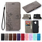 For Samsung Galaxy A3 A5 A6 A7 A8 A9 2018Leather Magnetic Flip Wallet Case Cover