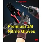 3M Pro Grip 1000 Nitrile Coated Work Gloves S M L Premium Electrician Outdoor
