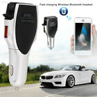 2BAA Earphone Combines with Car Charger Bluetooth Earphone Bluetooth 4.1