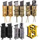 HSGI Tactical MOLLE Belt Mounted Tool Double Pistol Magazine Cordura TACO Pouch