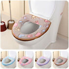 Внешний вид - Bathroom Warmer Toilet Seat Winter Cloth Closestool Washable Lid Top Cover Pad
