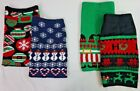 NWT Ugly Christmas Sweater Skirts in Ornament, Ho-Ho, Snowflake & Elf Prints S M