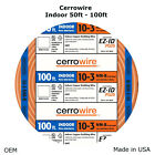 10-3 Cerrowire 50-100 Ft Indoor NM-B Solid with Ground Wire Orange 147-1803CR