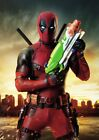 Marvel Comics: DEADPOOL Movie  Ryan Reynolds  A5 A4 A3 Textless Movie Posters