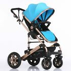 Foldable Portable Baby Stroller Folding High Landscape Sit and Lie prams collors