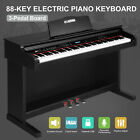 88 Key Electric Digital LCD Piano Keyboard Stand+Adaptor+Pedal 5 Variation Seat <br/> USB/MIDI Terminal✔80Demo✔Record✔Playback✔Elegant Timbre