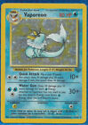 VAPOREON 1999 FOIL 12/64 Evolves from Evee Pokemon-Card LTY PLAYED