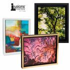 "Illusions Canvas Finished Art Floater Frame, 3/4"" Deep Canvas For Float Effect"