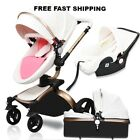 2018 Baby Stroller 3in1 travel system Bassinet Combo Pushchair folding Free ship