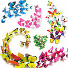12pc 3D Butterfly Wall Stickers Art Design Decal Room Decor DIY Decoration Home