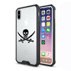 For Apple iPhone X XS Max XR Clear Shockproof Bumper Hard Case Cover Pirate