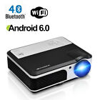 LED LCD Home Theater Video Projector HDMI Movie Night USB Backyard Xbox HD 1080p