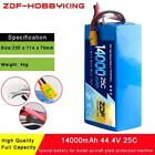 ZDF 12S 44.4V 14000mah 25C Max 50C Special lipo battery for model aircraft plant