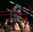 "ELVIS PRESLEY on TELEVISION 1968 Photo NBC COMEBACK SPECIAL ""BLACK LEATHER"""