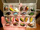 Mini 3cm Perch Fishing Lures! 20 custom colours! Complete Collection! FREE POST!