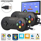 Lot 1-100 Pack SNES USB PC Wired Controller Gamepad for Win PC Mac Raspberry Pi