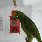 Parrot Bird Cage Feeder Drawer Forage Toys for Parrot Conure African Grey