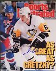 Mario Lemieux Pittsburgh Pinguins Signed 8x10 Autographed Photo w  COA
