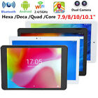 """10"""" 4GB 64GB Android 7.0 Tablet PC Hexa Core HD WiFi Bluetooth Dual Camera GPS"""